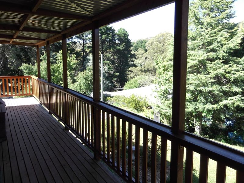 A beautiful outlook. This Cedarspan Loft Cottage in Hanging Rock, NSW was built in under a week.