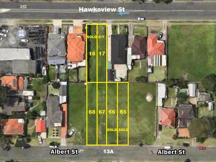 Lot 67 and 68 13A Albert Street, Guildford, NSW