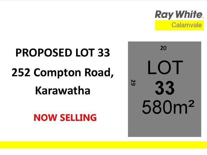 Lot 33, 252 Compton Road, Karawatha, QLD