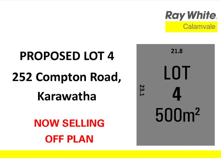 Lot 4, 352 Compton Road, Karawatha, QLD
