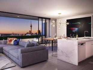 North Facing 17th Floor with 25m2 Outdoor Living - Freemans Bay