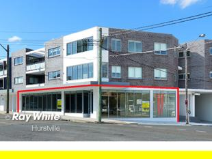 New 230 sqm Showroom or Offices in Prime Location - Hurstville