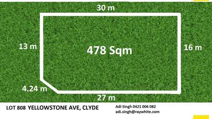 Lot 808 Yellowstone Avenue, Clyde
