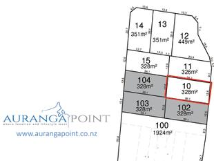 328m2 Section Available in Auranga Point - Drury