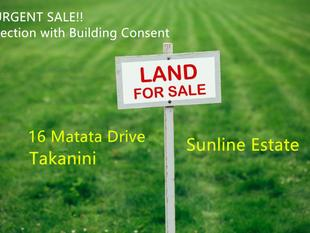 Ready to build Section in Sunline Estate! - Takanini