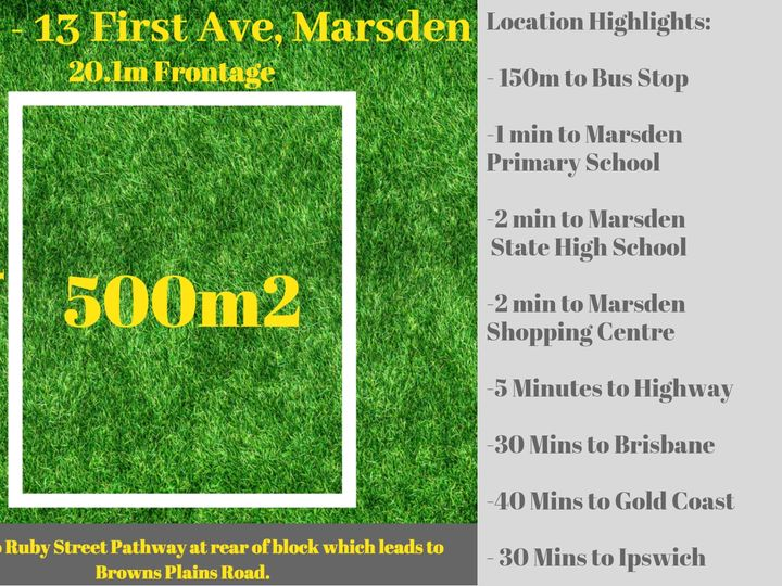 Lot 3 / 13 First Avenue, Marsden, QLD