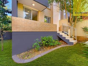 GROUND FLOOR APARTMENT WITH PRIVATE COURTYARD - North Parramatta