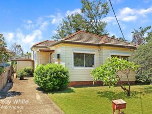 HOUSE FOR THE PRICE OF A UNIT - Merrylands
