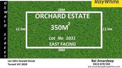 Lot 1031 Oswald Street, Tarneit