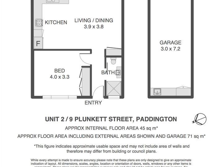 2/9 Plunkett Street, Paddington, QLD