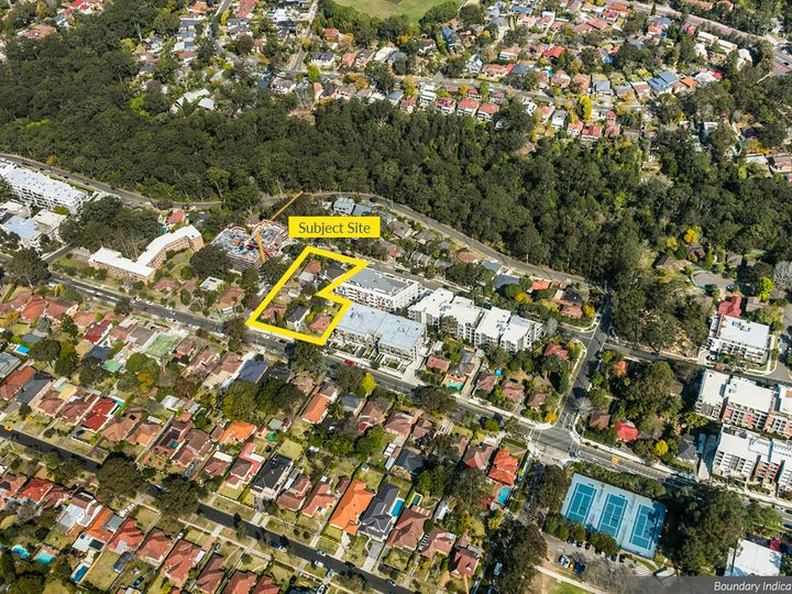 594-598 Mowbray Road and 5 and 7 Mindarie Street, Lane Cove North, NSW
