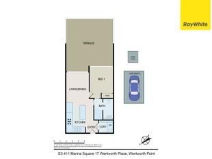 Marina Square | Stunning Terrace Apartment | Brand New Off Plan Resale - Wentworth Point