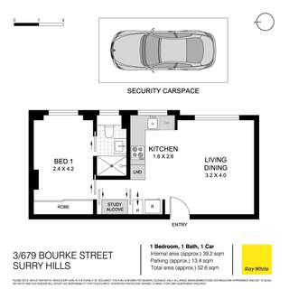 Thumbnail of 3/679 Bourke Street, Surry Hills, NSW 2010