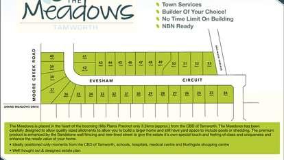 Lot 30 Evesham Circuit, The Meadows Estate, TAMWORTH