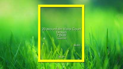 20 Mountain Vista Court, Drouin