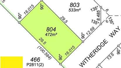 31 (lot 804) Witheridge Way, East Cannington