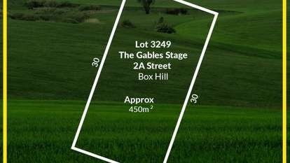 Lot 3249 Stage 2 The Gables, Box Hill