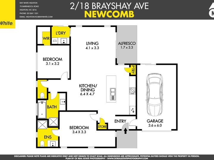 2/18 Brayshay Road, Newcomb, VIC