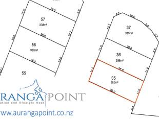 286m2 Section Available in Auranga Point - Drury
