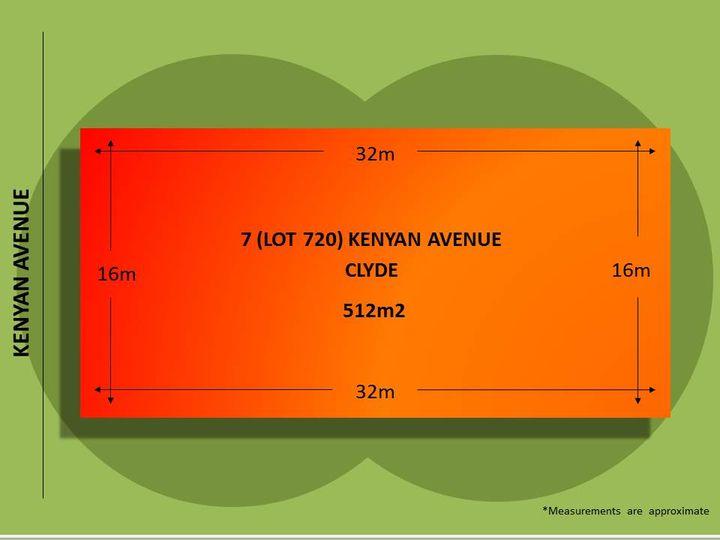 7 (Lot 720) Kenyan Avenue, Clyde, VIC