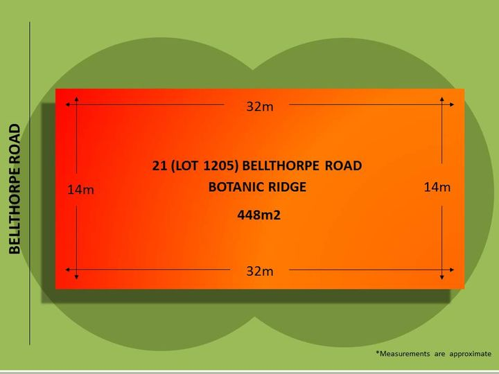 21 (Lot 1205) Bellthorpe Road, Botanic Ridge, VIC