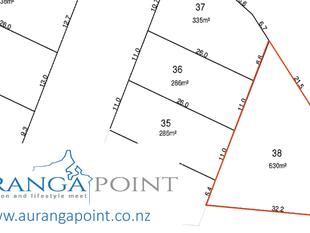 630m2 Section Available in Auranga Point - Drury