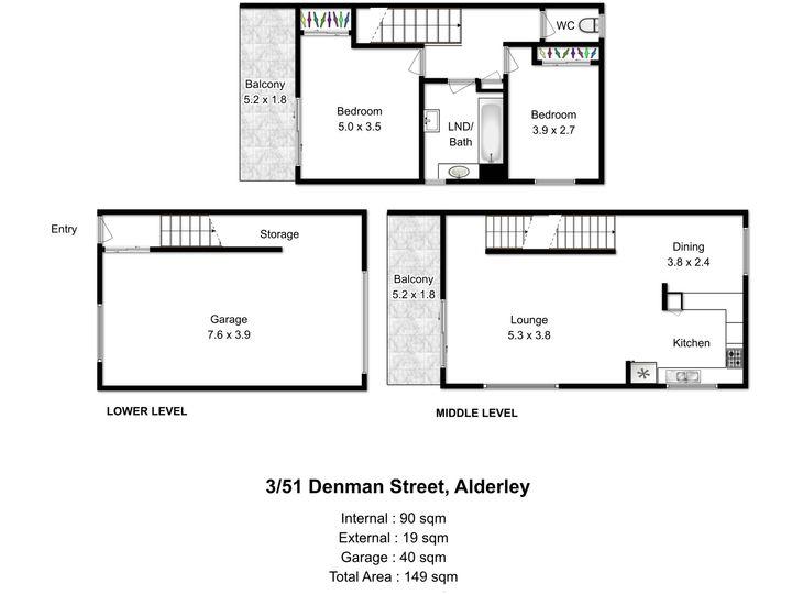 3/51 Denman Street, Alderley, QLD