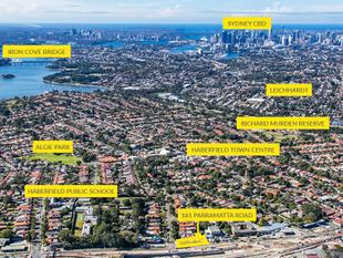 DA Approved Mixed Use Corner site - Haberfield