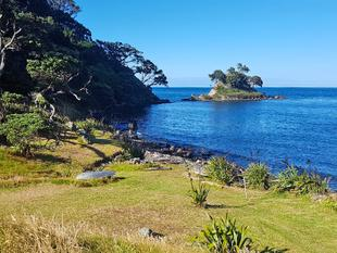Accessible Private Waterfront by Louise Roke - Great Barrier Island