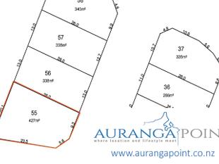 427m2 Section Available in Auranga Point - Drury