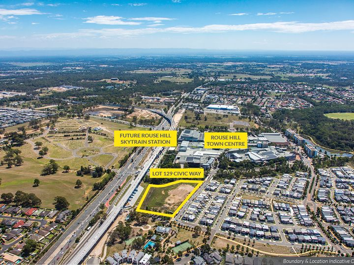 Lot 129 Civic Way, Rouse Hill, NSW