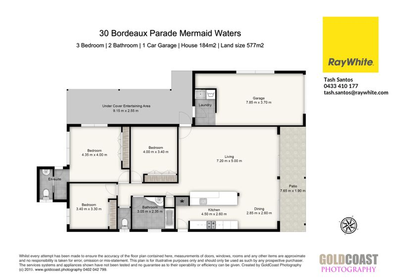 30 Bordeaux Parade, Mermaid Waters, QLD - Residential House Sold
