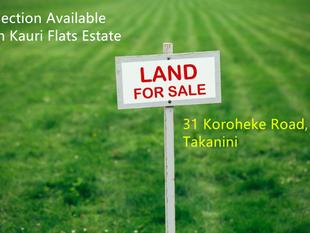 Section Available in Kauri Flats Estate - Takanini