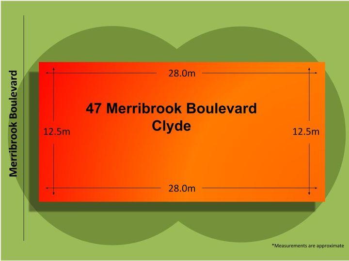 47 Merribrook Boulevard, Clyde, VIC