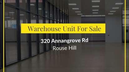 Unit 17/320 Annangrove Road, Rouse Hill