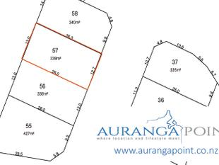 338m2 Section Available in Auranga Point - Drury