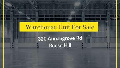 Unit 4/320 Annangrove Road, Rouse Hill